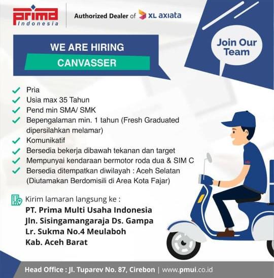Lowongan Kerja Aceh: PT Prima Multi Usaha Indonesia ...