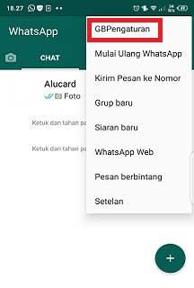 Cara Mengatur Terakhir Dilihat Pada Whatsapp GB Versi Terbaru