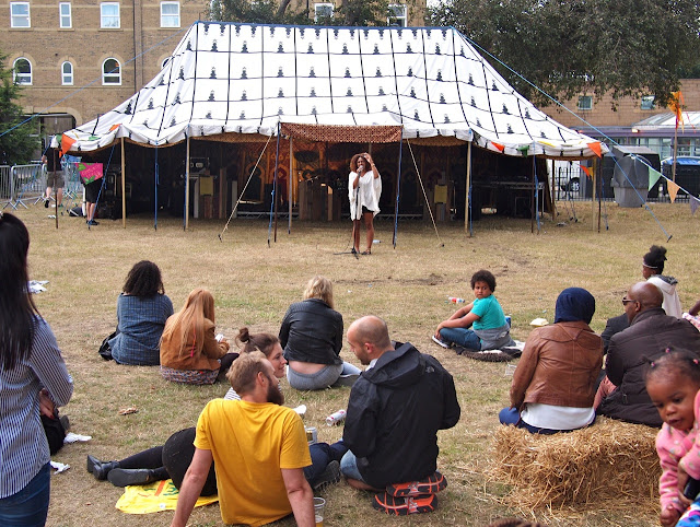 Camberwell Fair 2015 - the Community Stage