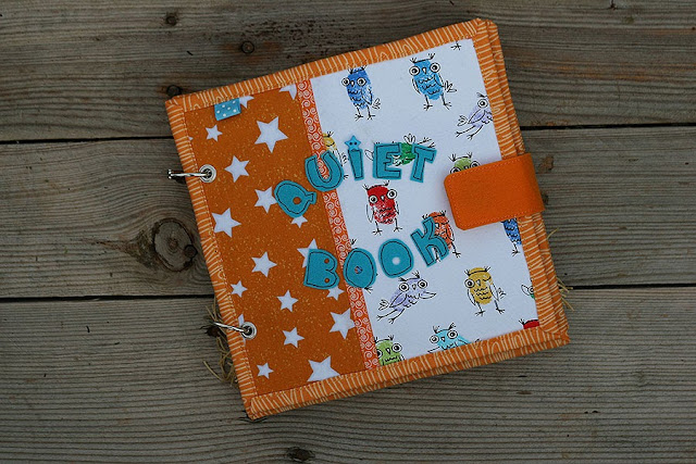 Quiet book, fabric busy book, Handmade by TomToy