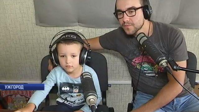 Мартін Уманський став радіоведучим у 4 роки