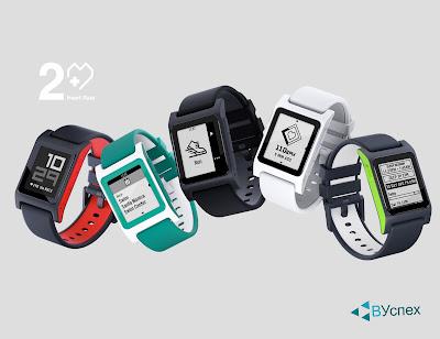 Pebble Smartwatch 2 имеют 5 цветов, улучшенных функционал и датчик сердцебиения.