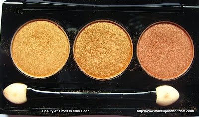 NYX Eyeshadow Trio  GURU
