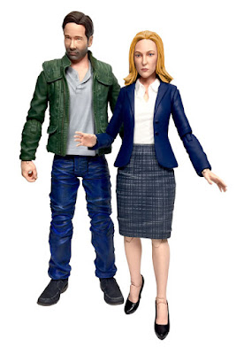 The X-Files 2016 Revival Section Action Figures by Diamond Select Toys