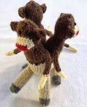 http://www.ravelry.com/patterns/library/half-pony-half-monkey-monster