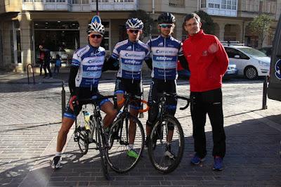 Ciclistas Zumaiako Saria