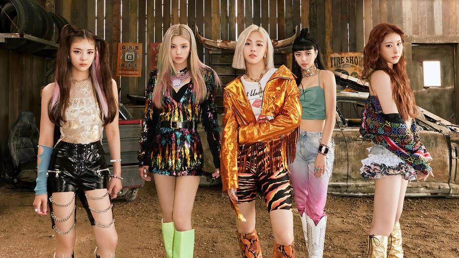 ITZY, Not Shy, K-Pop, Members, 4K, #5.2592