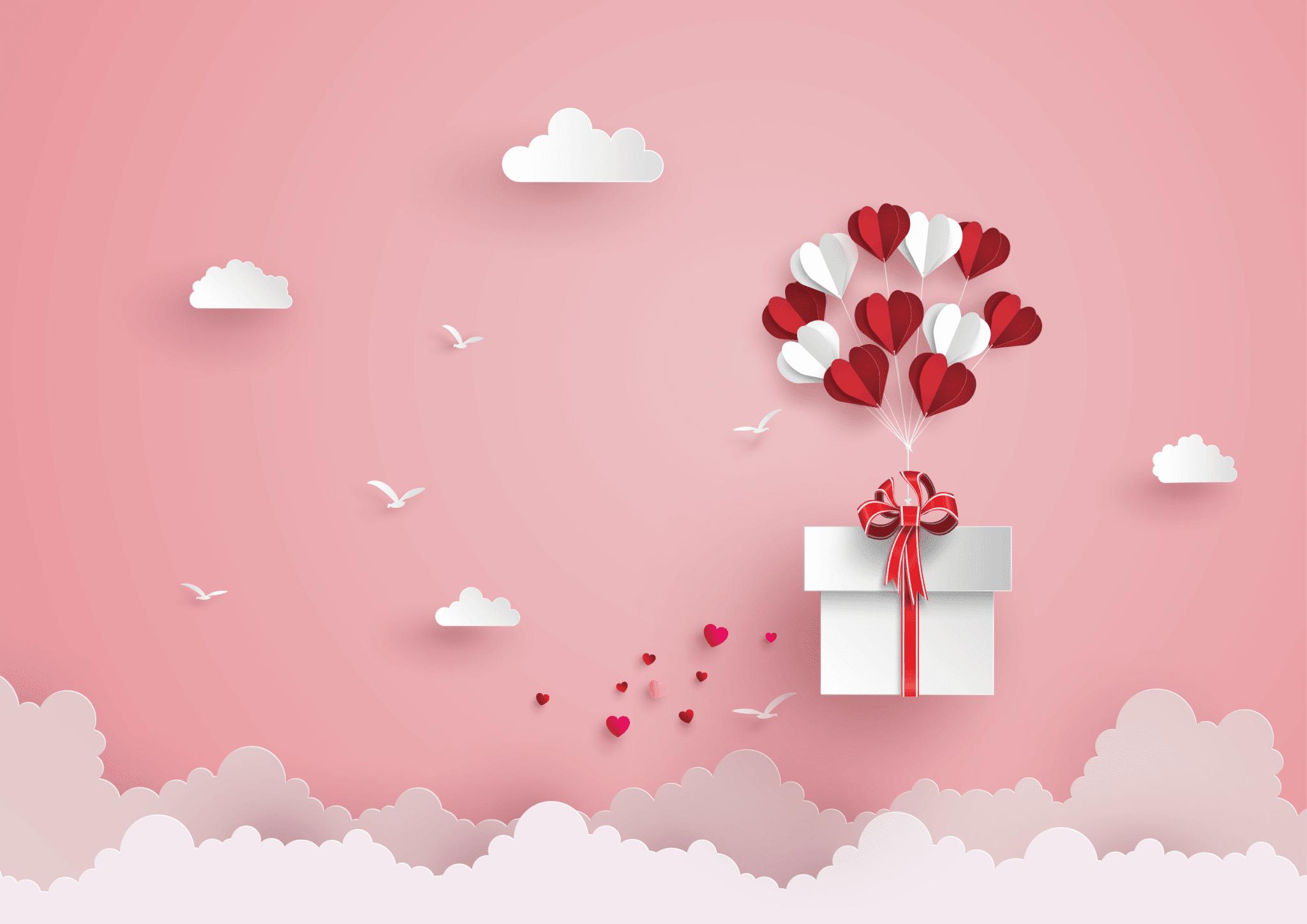 Symboliczny prezent na Walentynki? Czy coś z rozmachem?