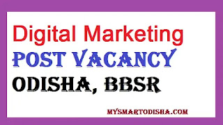 Digital Marketing Executive Post Vacancy at Right Fit Resources, Odisha