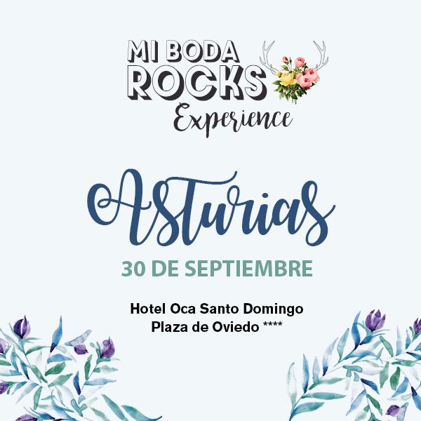 Mi Boda Rocks Experience Asturias 30 septiembre 2018