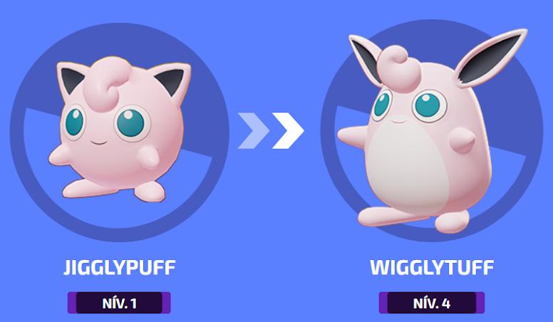 Pokémon Unite - Evolução de Wigglytuff