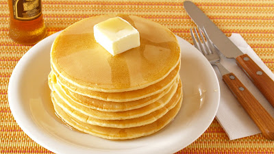 When I made Hot Cake (Japanese Pancake), I received many requests for the recipe from scratch, so here is the recipe.