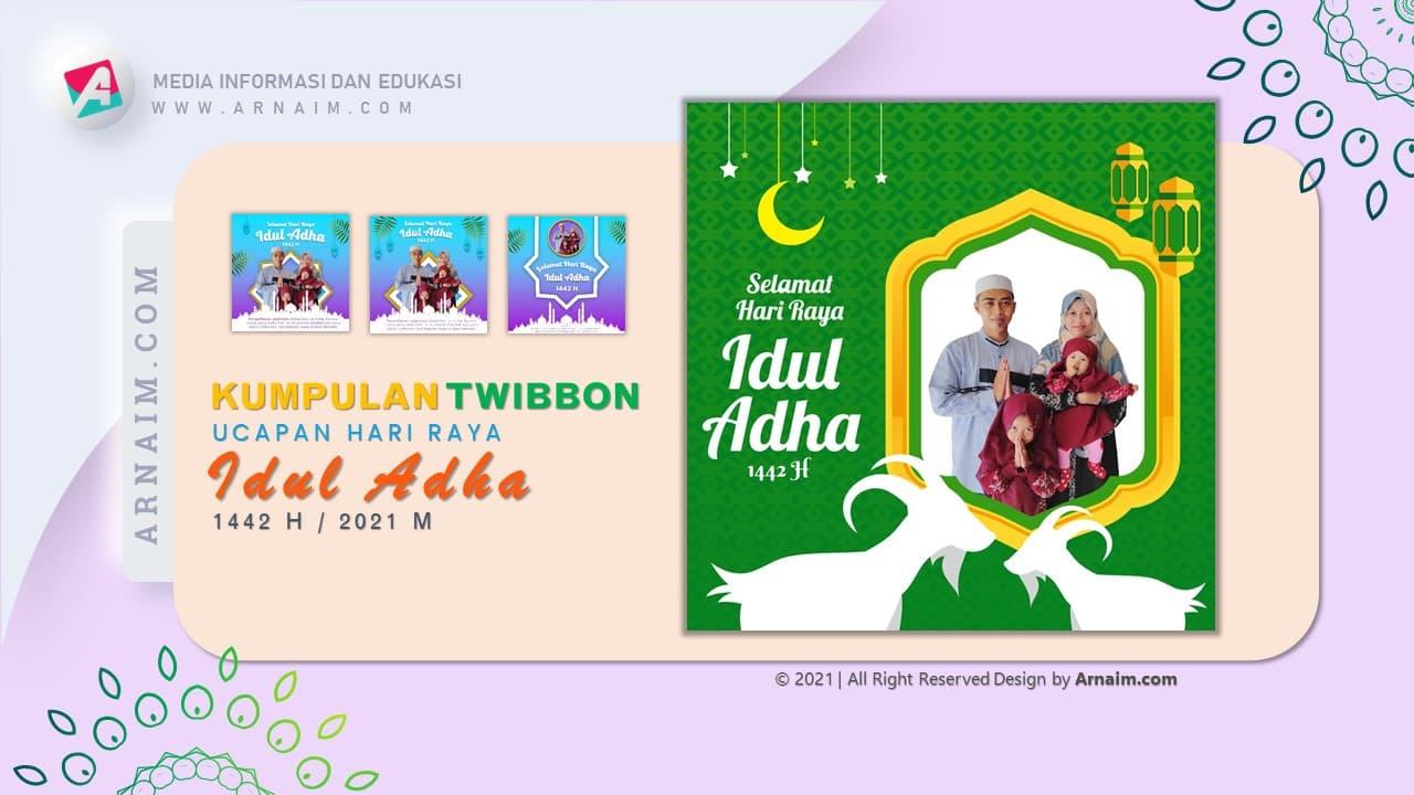 ARNAIM.COM  - DESIGN TWIBBON KEREN UCAPAN HARI RAYA IDUL ADHA 1442 H (4)
