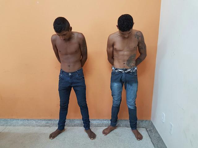 Polícia apresenta dupla suspeita de cometer crimes em Cruzeiro do Sul