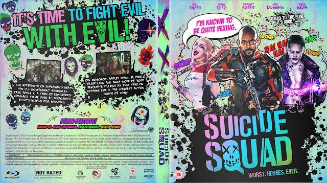 Capa Bluray Suicide Squad