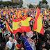 """Multitudinaria marcha contra gobierno español, reclaman """"elecciones ya"""""""