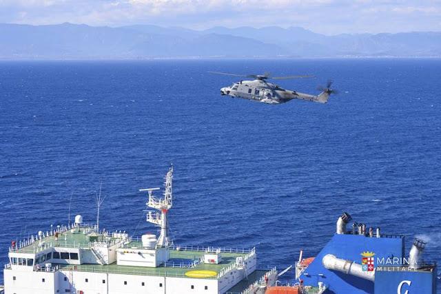 Mare Aperto 2021, si consolida la sinergia tra Confitarma e Marina Militare