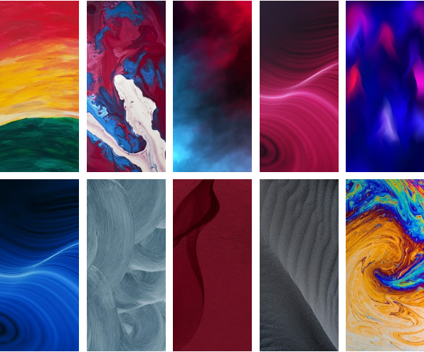 Do wnload Realme X2 Pro Stok Wallpaper Resmi  1