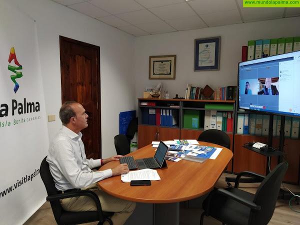 La Palma refuerza su posición como destino turístico seguro en la ITB
