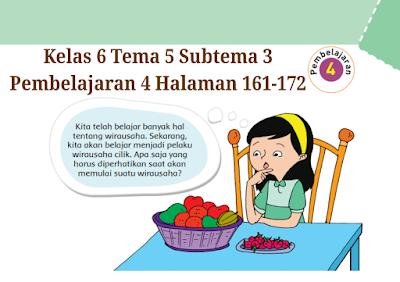 Kunci Jawaban Buku Tematik Tema 5 Kelas 6 Halaman 161, 162 ...