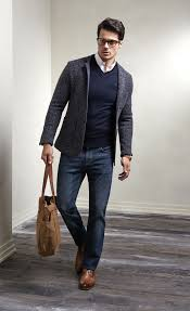 blazer pria casual