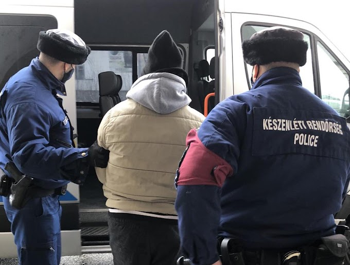 Egy körözött román férfit adtak át Magyarországnak - Videó!