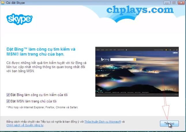 Hướng dẫn Cài đặt Skype trên máy tính c