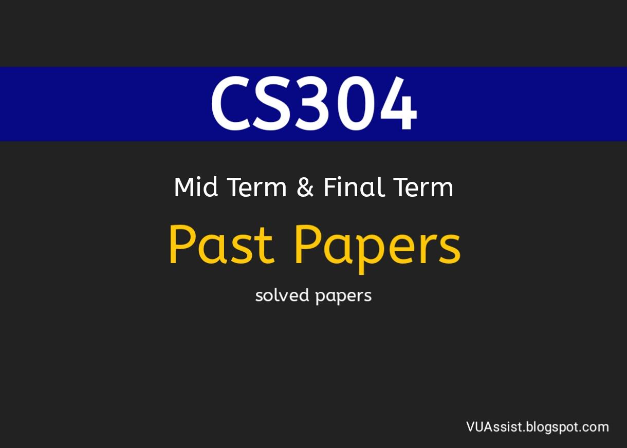 cs304 final term paper 2015