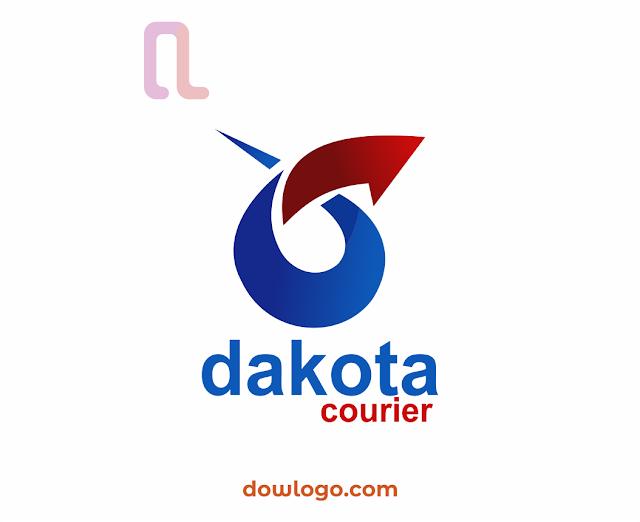 Logo Dakota Courier Vector Format CDR, PNG
