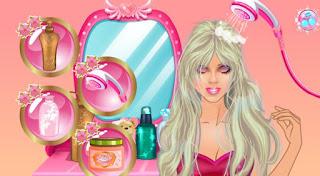 game làm tóc cho barbie hay nhất