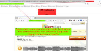 Sáltate la censura de algunos paises en internet con Firefox y Tor