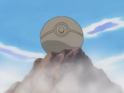 Poké Bola de Pedra