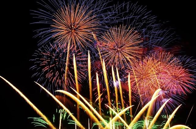 Alerta para o uso de fogos de artifício na festa de réveillon
