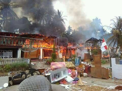 11 Rumah Ludes Dilalap Si Jago Merah di Aur Malintang