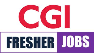 CGI Jobs for Freshers