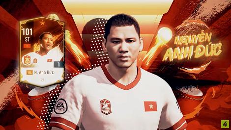 FIFA ONLINE 4   Soi chỉ số khủng diện mạo mới của Nguyễn Anh Đức Vietnam Legends - Ngôi sao nở muộn của bóng đá Việt Nam