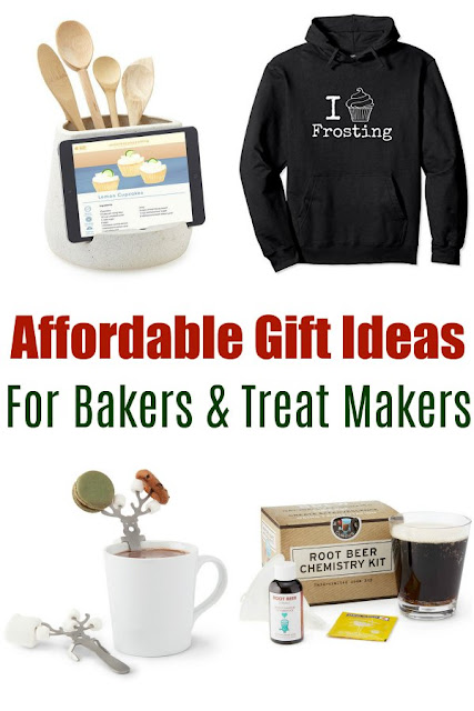 To make your Christmas shopping a little easier, I have collected some fun gift ideas for your favorite baker, cook or food lover. These items are all affordable and sure to be appreciated.
