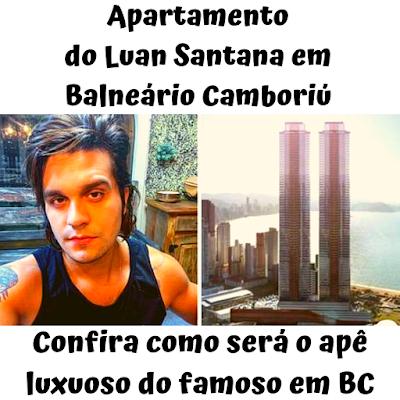 Apartamento do Luan Santana em Balneário Camboriú