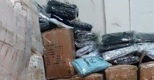 المهدية : حجز كمية من الملابس الجاهزة والأحذية الرياضية بقيمة 200 ألف دينار