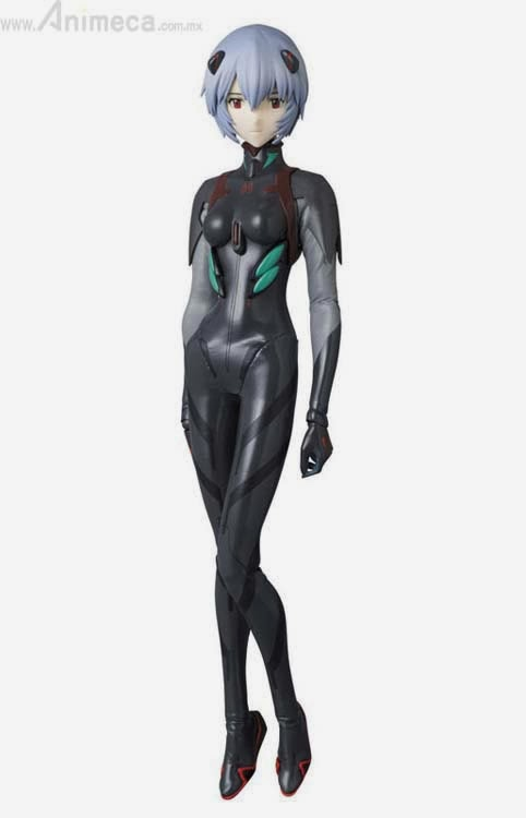 REAL ACTION HEROES REI AYANAMI PLUG SUIT EDITION Q FIGURE EVANGELION 3.0 Medicom Toy