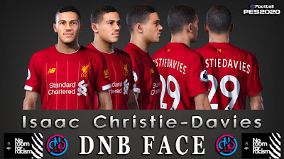 PES 2020 Faces Isaac Christie-Davies by DNB