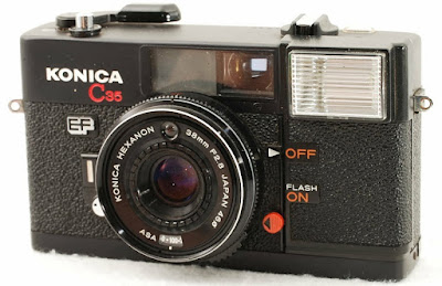 Konica C35 EF, Later version