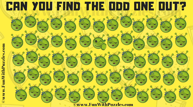 In this Find the Emoji Picture Riddle, your challenge is to find the Emoji which is different from others