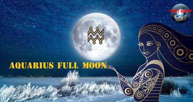 Aquarius Full moon 2021, Trăng tròn Bảo Bình