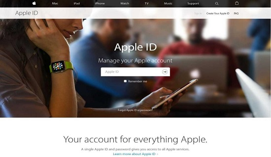 Appel ID How to Create an Apple ID on a PC