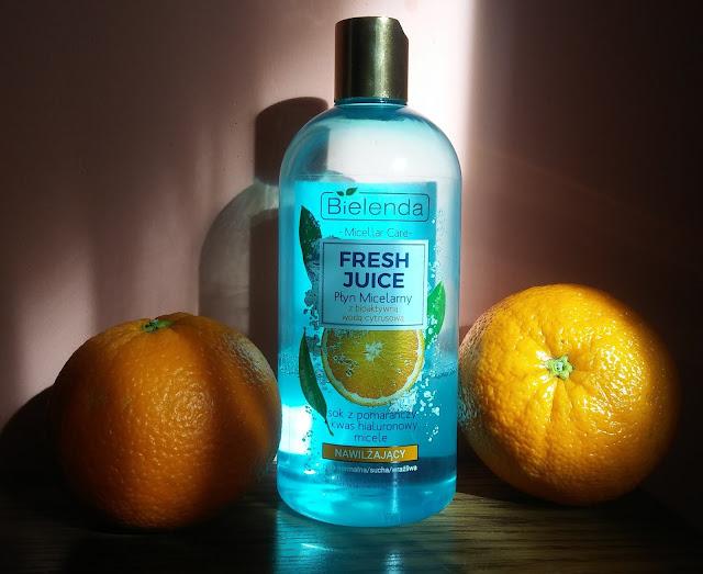 Bielenda, Fresh Juice, Nawilżający - płyn micelarny z bioaktywną woda cytrusową