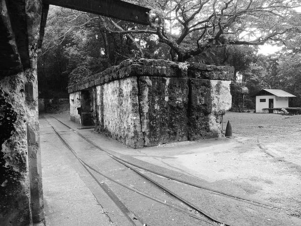 Barracks for ammunition storage at Corregidor Island