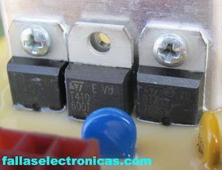 circuito integrado placa de lavadora