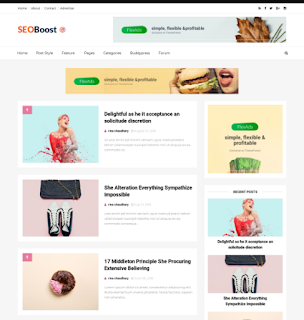 Seo Boost Blogger Template Free Download |