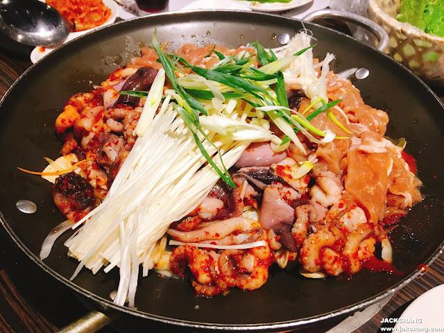 烤肉章魚鍋